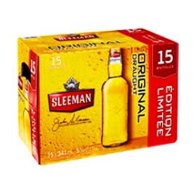 Bière Sleeman Original 5%alc 15 Bouteilles 341 mL