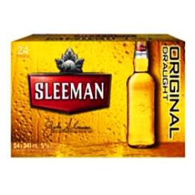 Bière Sleeman Original 24 Bouteilles 341 mL