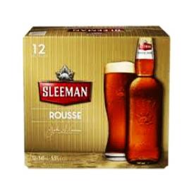 Bière Sleeman Rousse 5.5%alc 12 Bouteilles 341 mL