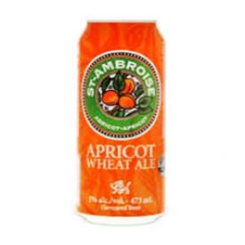 Bière St Ambroise Bière de Blé à l'abricot 5%alc Canette 473 mL