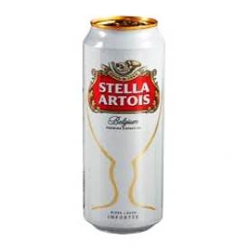 Bière Stella Artois 5.2%alc Canette 500 mL