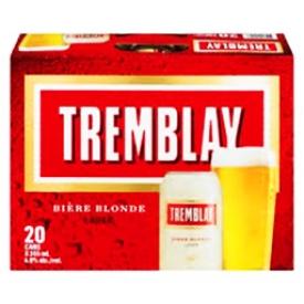 Bière Tremblay 4.9%alc 12 Canettes 355 mL