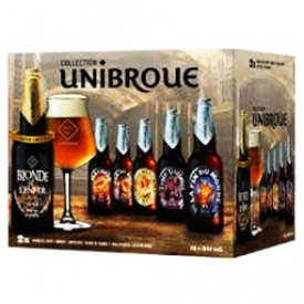 Bière Unibroue 12 Bouteilles 341 mL