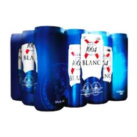 Bière 1664 Blanc 5% 12 Canettes 500 mL