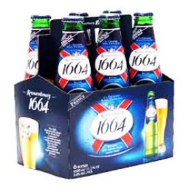 Bière 1664 Blanc 5%alc 6 bouteilles 330 mL