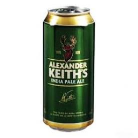 Bière Alexander Keith's India Pale Ale 5%alc Canette 473 mL