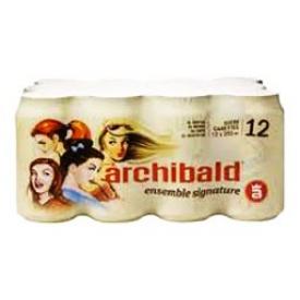Bière Archibald Ensemble Signature 12 Canettes 355 mL