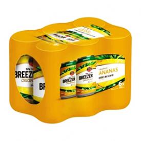 Bière Bacardi Breezer Ananas 5%alc 6 Canettes 355 mL