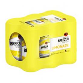 Bière Bacardi Breezer Limonade 5%alc 6 Canettes 355 mL