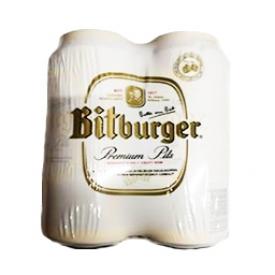 Bière Bitburger Sans Alcool 4 Canettes 500 mL
