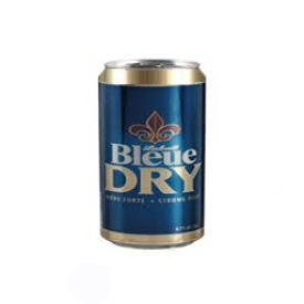 Bière Bleue Dry  6.1%alc Canette 355 mL