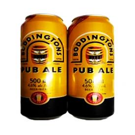 Bière Boddingtons Pub Ale 4.6%alc Canettes 500 mL