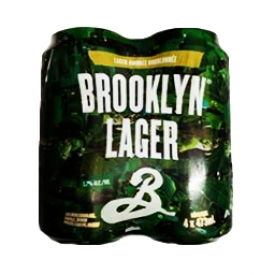 Bière Brooklyn Lager 5.2%alc 4 Canettes 473 mL
