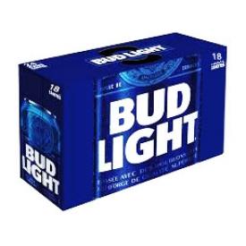 Bière Bud Light 4%alc 18 Canettes 355 mL