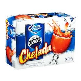 Bière Bud Light Clamato Chelada 4.0%alc 12 Canettes 355 mL