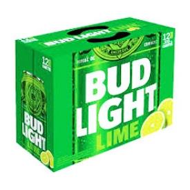 Bière Bud Light Lime 4%alc 12 Canettes 355 mL