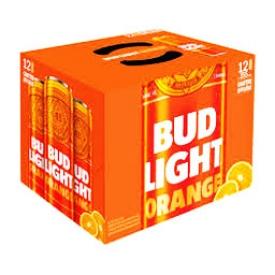 Bière Bud Light Orange 4%alc 12 Canettes 355 mL