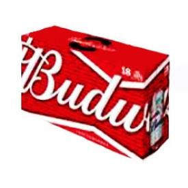 Bière Budweiser 5%alc 18 Canettes 355 mL