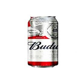 Bière Budweiser 5%alc Canette 355 mL