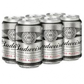 Bière Budweiser Sans Alcool 6 Canettes 355 mL