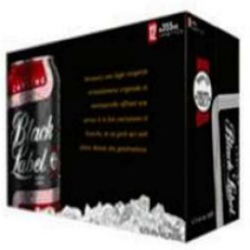 Bière Carling Black Label 1927 5%alc 12 Canettes 355 mL