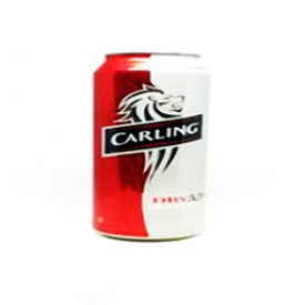 Bière Carling Dry 5.5%alc Canette 355 mL