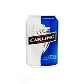 Bière Carling Lager 4.9%alc Canette 355 mL