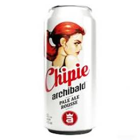 Bière Archibald Chipie 5%alc Canette 473 mL