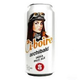 Bière Archibald Ci-boire 6%alc Canette 473 mL