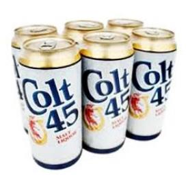 Bière Colt 45 8%alc 6 Canettes 355 mL