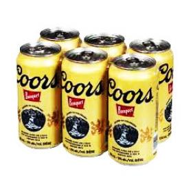 Bière Coors Banquet 5%alc 6 Canettes 355 mL
