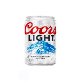 Bière Coors Light 4%alc Canette 355 mL