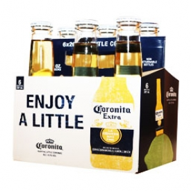 Bière Coronita 4.5%alc 6 Bouteilles 330 mL