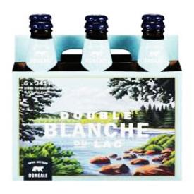 Bière Double Blanche du Lac 6.1%alc 6 Bouteilles 341 mL