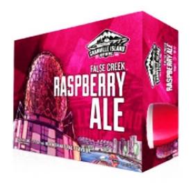 Bière Granville Island Brewing False Creek Raspberry Ale 4.5%alc 12 Canettes 355 mL