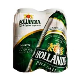 Bière Hollandia 5%alc 4 Canettes 500 mL