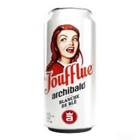 Bière Archibald Joufflue 4.2%alc Canette 473 mL