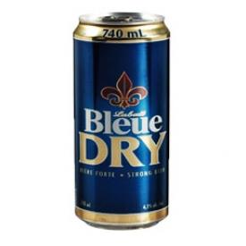 Bière Labatt Bleue Dry 6.1%alc Canette 740 mL