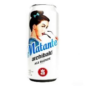 Bière Archibald Matante 4.9%alc Canette 473 mL
