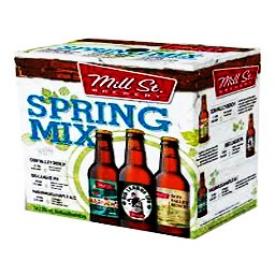 Bière Mill St. Brewery_Assortiment du Printemps 12 Bouteilles 355 mL