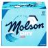 Bière Molson Dry 5.5%alc 12 Bouteilles 341 mL