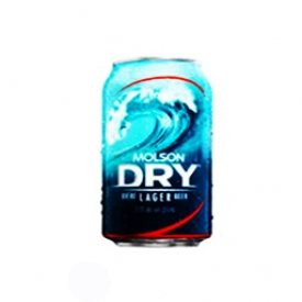 Bière Molson Dry 5.5%alc Canette 355 mL