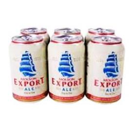 Bière Molson Export Ale 5%alc 6 Canettes 355 mL