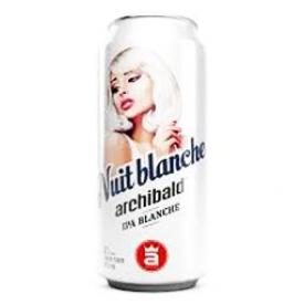 Bière Archibald Nuit Blanche 6%alc Canette 473 mL