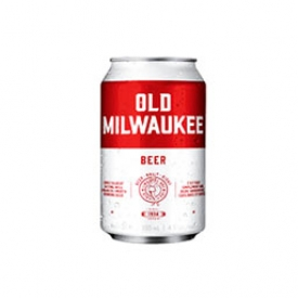 Bière Old Milwaukee 4.9%alc Canette 355 mL