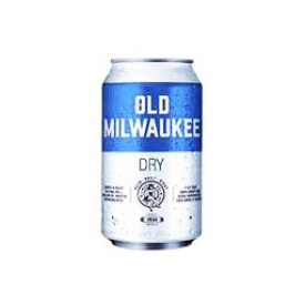 Bière Old Milwaukee Dry 5.9%alc Canette 355 mL