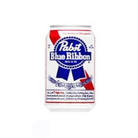 Bière Pabst Blue Ribbon 4.9%alc Canette 355 mL