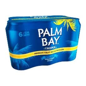 Bière Palm Bay Mango Fruits de la Passion 5%alc 6 Canettes 355 mL