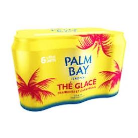 Bière Palm Bay Thé Glacé Framboise Starfruit 5%alc 6 Canettes 355 mL