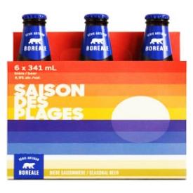 Bière Saison des Plages 4.9%alc 6 Bouteilles